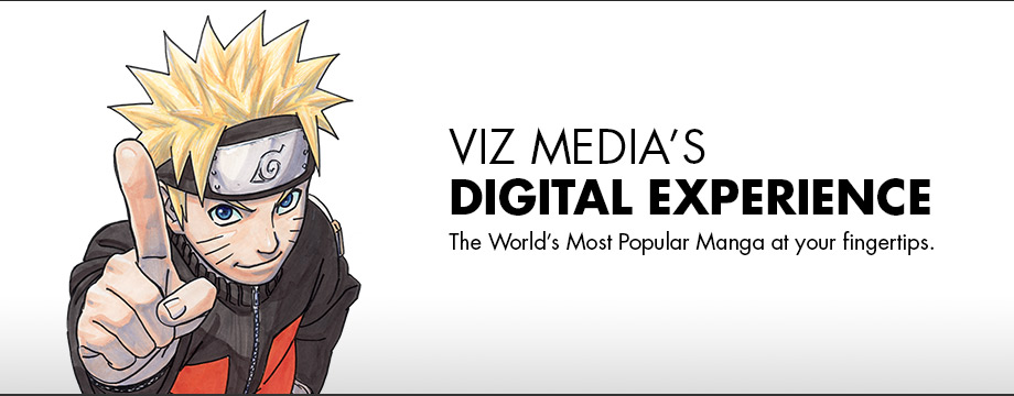VIZ Media's Digital Experience