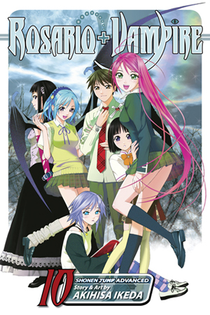 Image result for rosario vampire manga