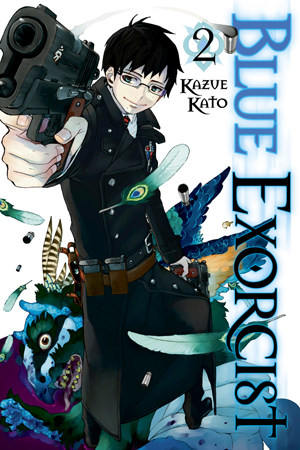 Ao no Exorcist (Blue Exorcist) manga vol 1 ile ilgili görsel sonucu