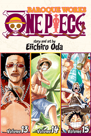 ONE PIECE 3in1 TP VOL 05 [v13-15]