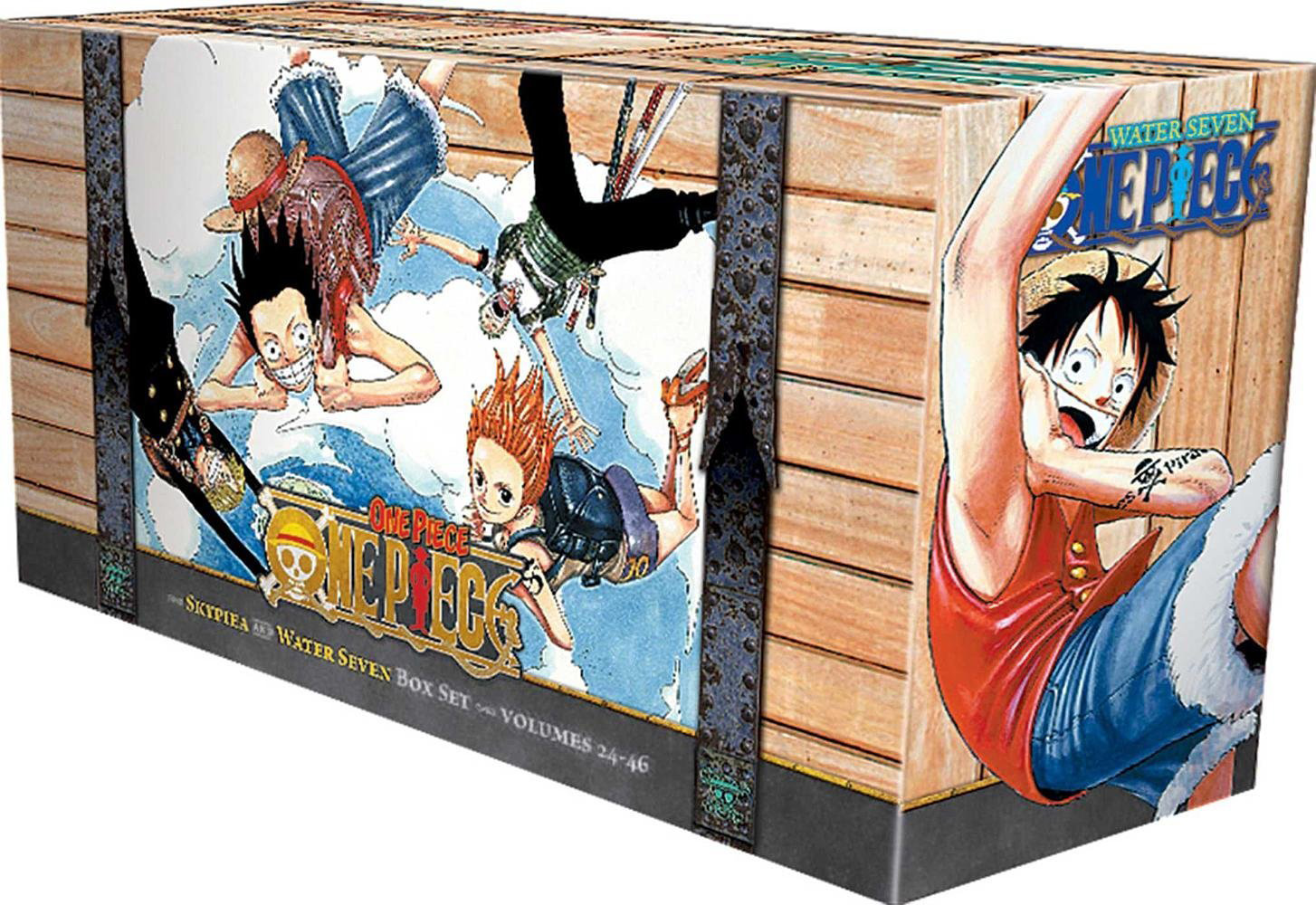 Skypiea and Water Seven, Volumes 24-46 (Box Set)