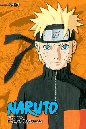Shonen Jump Naruto Manga Lot Books 1-3, 12 and 44 Paperback Great Gift! .5