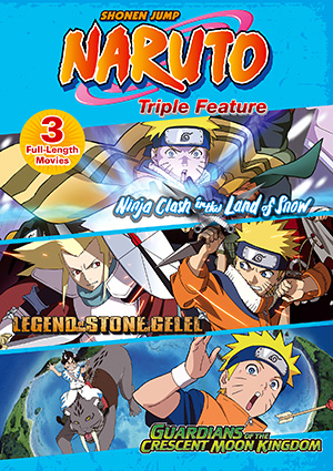 Viz See Naruto The Movie Triple Feature
