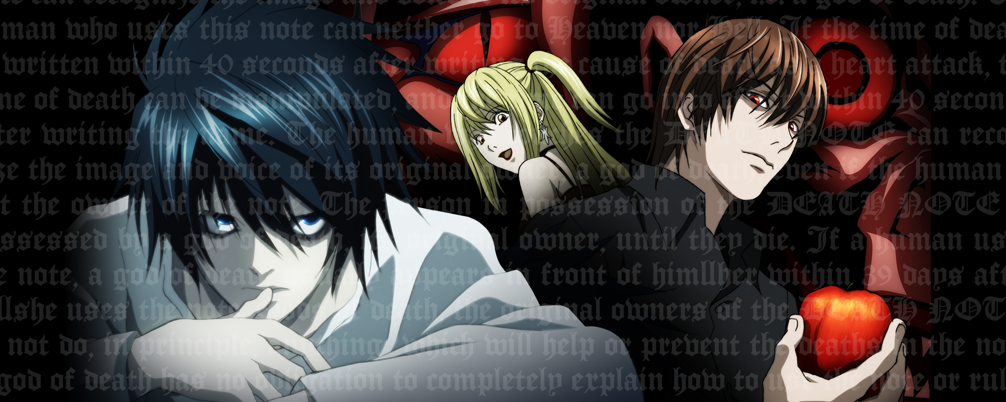 Viz the official website for death note