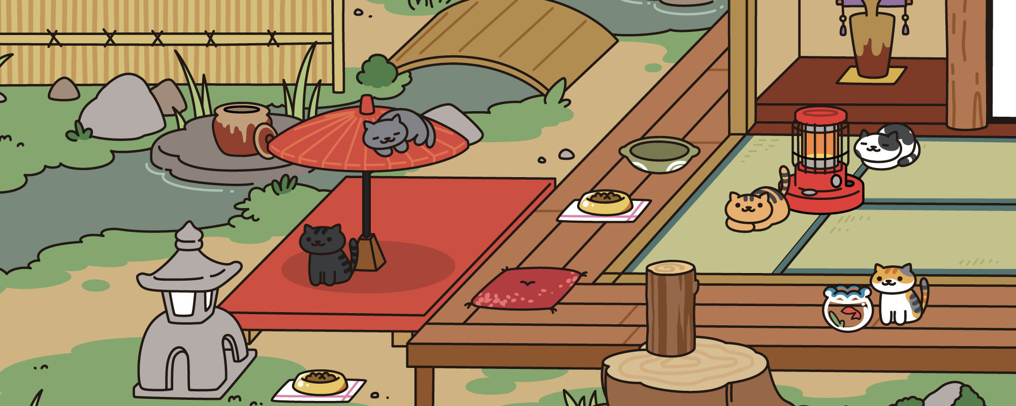 Neko Atsume Kitty Collector