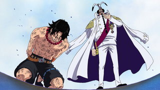 One Piece 459 Ticking Down To The Time Of Battle Navys Strongest Lineup In Position