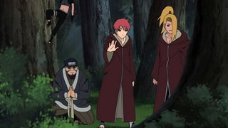 Redirect! Naruto shippuden: season 11 episodes 256, 261 and 262.